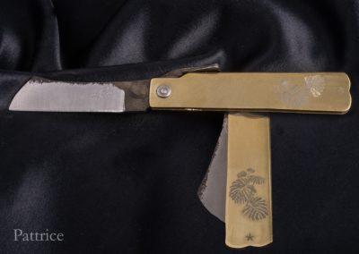 couteau-japonnais-pattaogami-acier-plantes