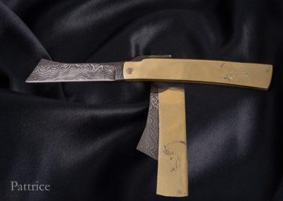 couteau-japonnais-pattaogami-cheval-acier-damas